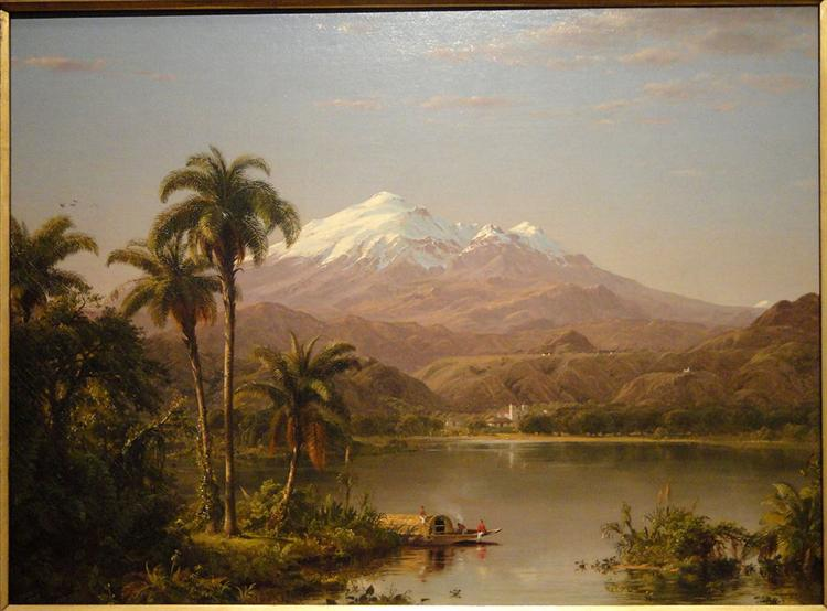 Tamaca Palms, 1854 - Frederic Edwin Church