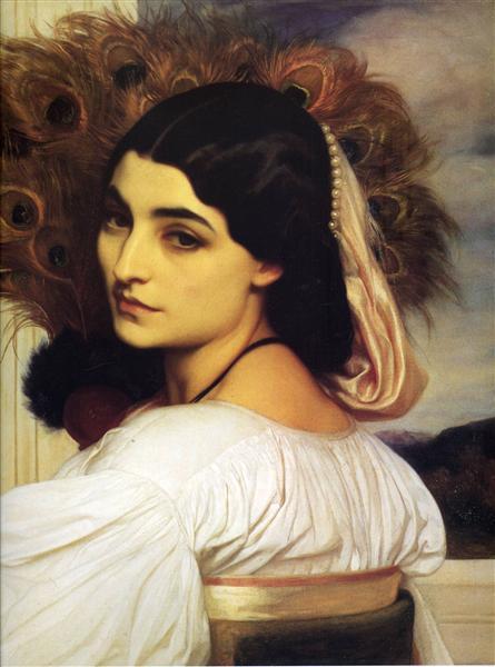 Pavonia, 1859 - Frederic Leighton