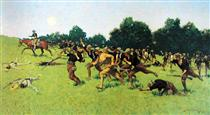 Charge of the Rough Riders at San Juan Hill - Фредерик Ремингтон