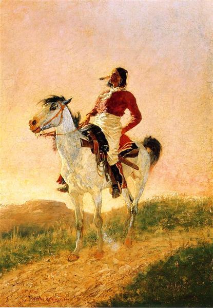 Modern Comanche - Frederic Remington