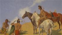 The Smoke Signal - Фредерик Ремингтон