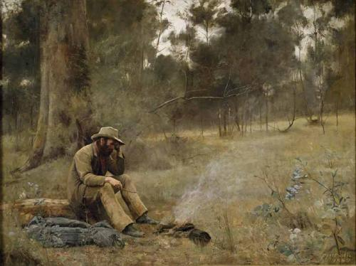 Down on his luck, 1889 - Frederick McCubbin