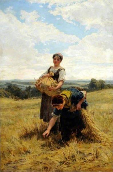 Gleaners, 1880 - Frederick Morgan