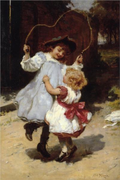 Skipping, 1896 - Frederick Morgan