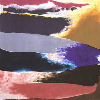 Distant Sea, 1982 - Friedel Dzubas