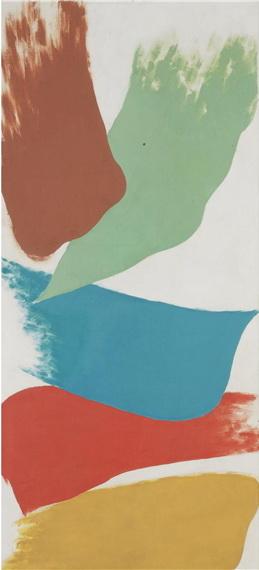 Untitled, 1981 - Friedel Dzubas