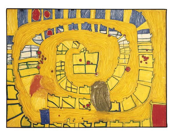 532 The Lion of Venice, 1962 - 1962 - Friedensreich Hundertwasser