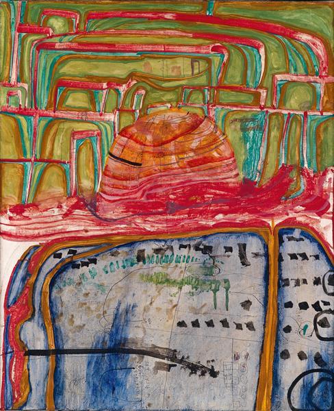 398 The Mosque, 1959 - Friedensreich Hundertwasser
