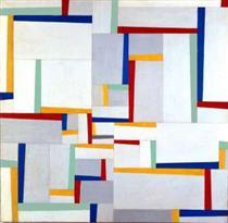 Relational Painting #9 - Fritz Glarner
