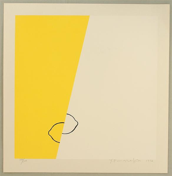 Lemons. 1972 by Funasaka Yoshisuke.