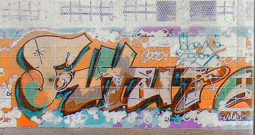 Piece, 1980 - Futura 2000