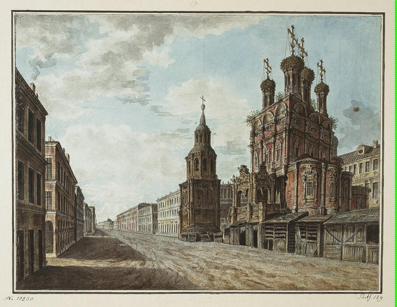 Church of Nikola the Big Cross on Ilyinka, 1805