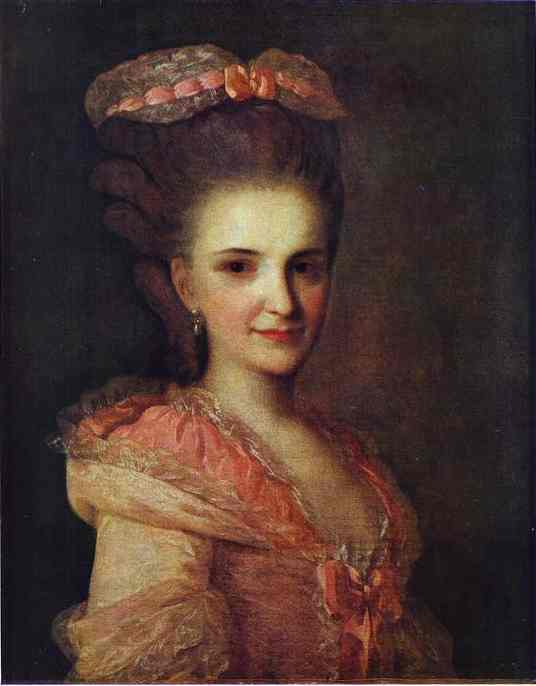 Portrait of an Unknown Lady in a Pink Dress, 1770