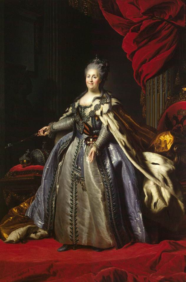 Portrait of Catherine II of Russia, 1780
