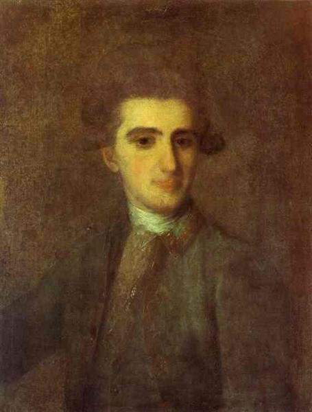 Portrait of N.E.Struisky, 1772 - Fyodor Rokotov
