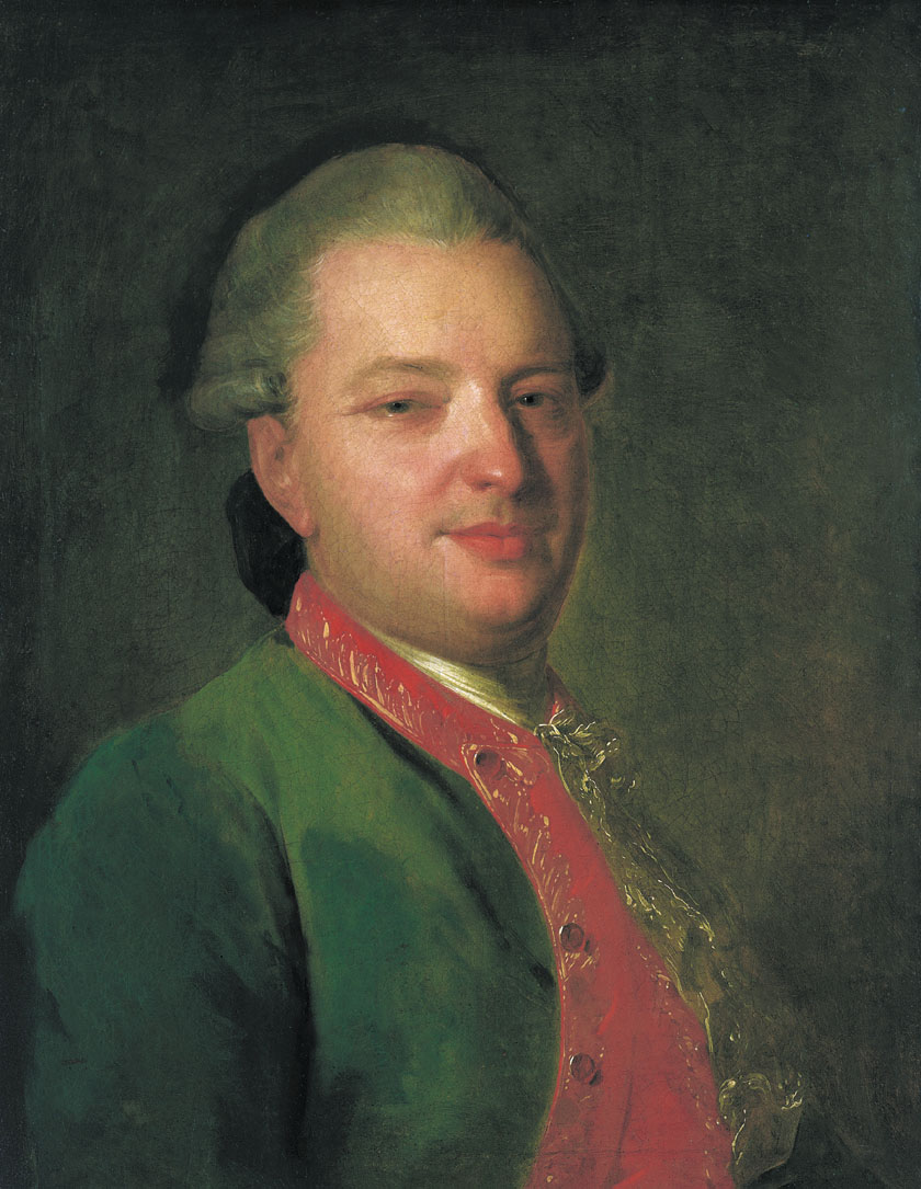 Portrait of the Poet Vasily Maykov, 1760