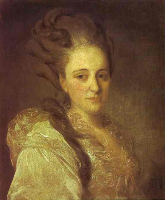 Portrait of V.A.Obreskova, 1777