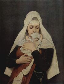 Findelkind - Gabriel von Max