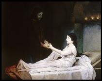 The Raising of the Daughter of Jairus - Gabriel von Max