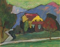 The Yellow House - Gabriele Munter