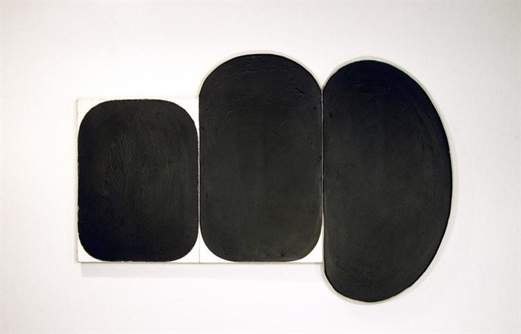 Black Painting, 1972 - Gary Kuehn