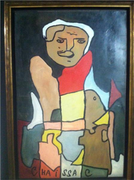 Personnage à la casquette - Gaston Chaissac