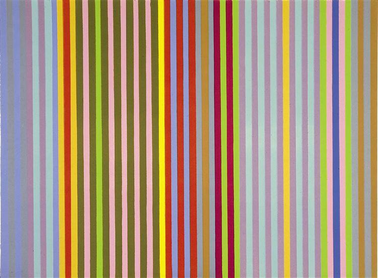 Apricot Ripple, 1968 - Gene Davis