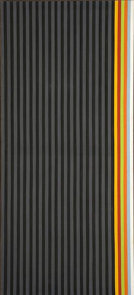 Licorice Stick, 1961 - Gene Davis