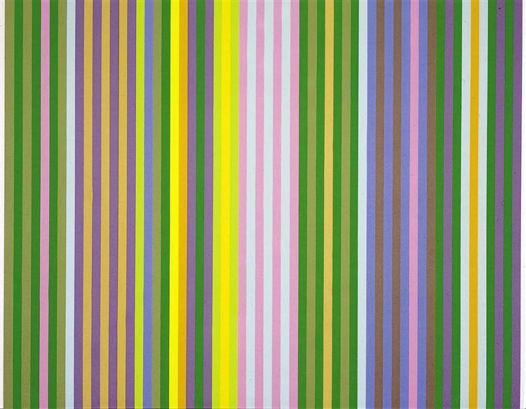 Zebra, 1969 - Gene Davis