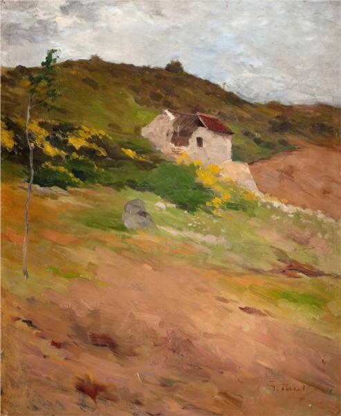 French Landscape - Georg Pauli