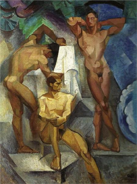 Young Bathers, 1914 - Georg Pauli