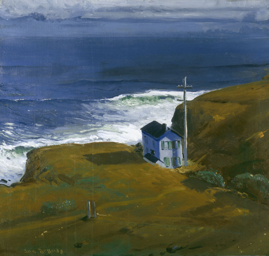 Shore House, 1911 - George Wesley Bellows