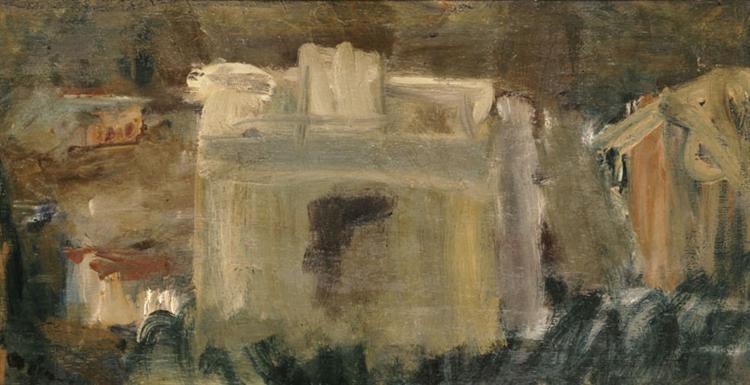 Houses, c.1945 - George Bouzianis