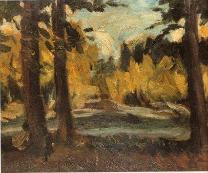 Landscape, 1918 - George Bouzianis