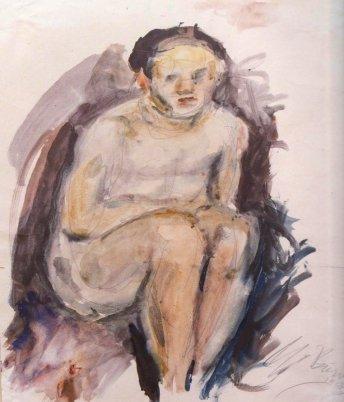 Naked boy, 1928