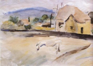 Landscape of Eichenau, 1924 - George Bouzianis
