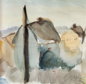 Landscape of Eichenau, 1925 - George Bouzianis