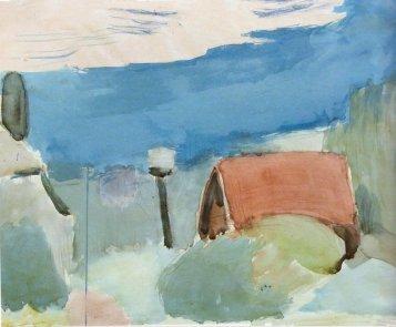 Landscape of Eichenau, 1928