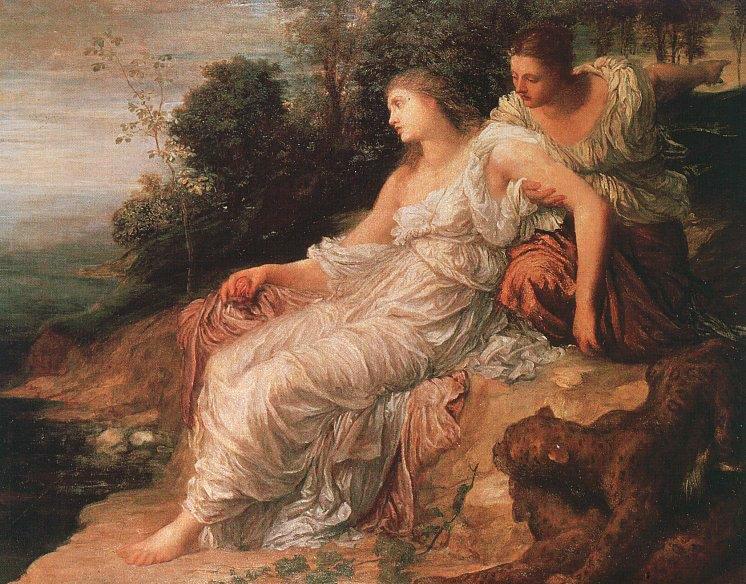 Ariadne on the Island of Naxos, 1875 - George Frederick Watts ...