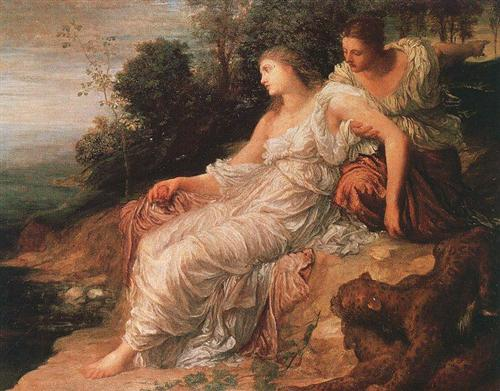 Ariadne on the Island of Naxos - George Frederick Watts