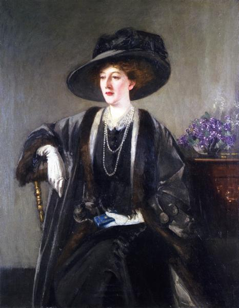 Mrs. Kirkwood, 1908 - George Henry