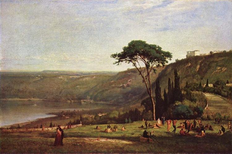 Lake Albano, 1869 - George Inness