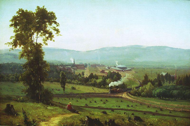 The Lackawanna Valley, 1855