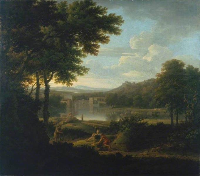 Classical Landscape, 1745 - George Lambert