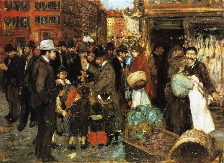 Hester Street, 1905 - Джордж Лакс