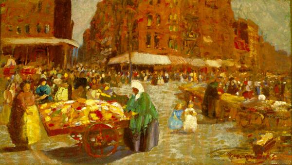 Houston Street, 1917 - George Luks