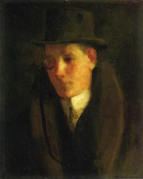 Man with a Monocle - George Luks