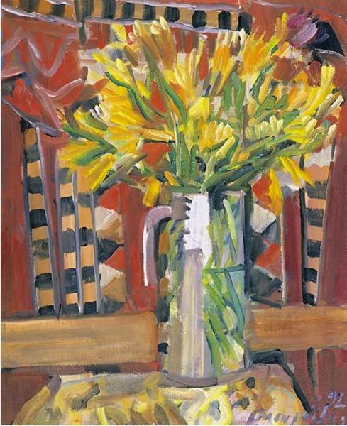 Vase with flowers, 1992 - George Mavroides