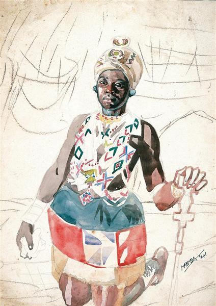 Zulu woman – unfinished symphony, 1941 - George Pemba