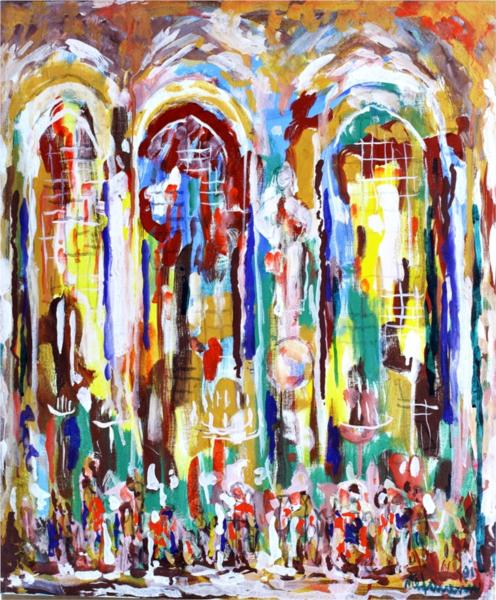 Cathedral, 1991 - George Stefanescu